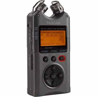 DR-40 - Portable Digital Recorder (Luminous Gray) (OPEN BOX)