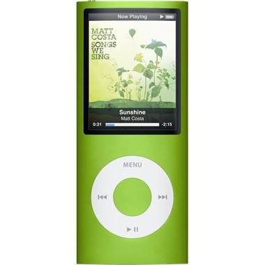 iPod Nano 4th Generation 8GB MP3 Player - Green