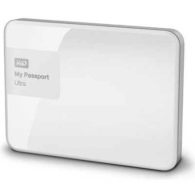 My Passport Ultra 3 TB Portable External Hard Drive, White