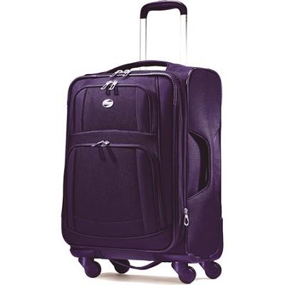 iLite Supreme 25 Inch Spinner Suitcase (Purple)