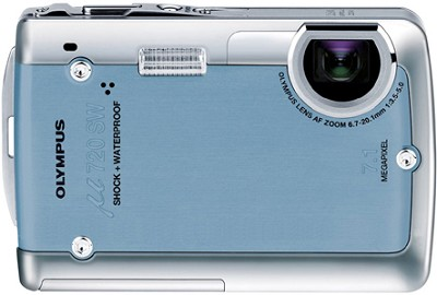 Stylus 720 SW 7.1MP Shockproof and Waterproof Digital Camera (Blue)