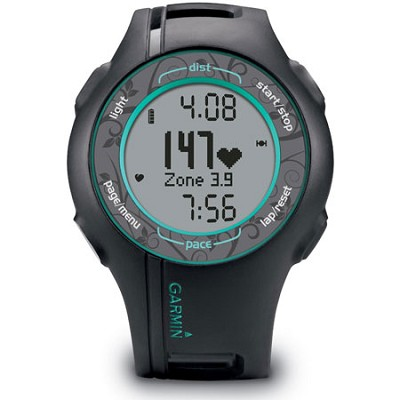 Forerunner 210 GPS Sport Watch w/ Premium Heart Rate Monitor (Teal) 010-00863-38