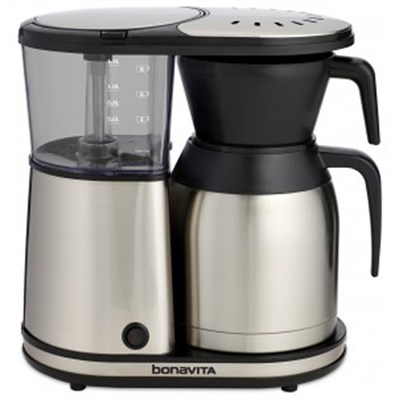 8-Cup Coffee Brewer with Stainless Steel Lined Thermal Carafe (BV1900TS)