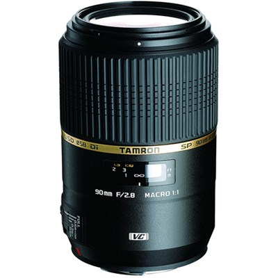 SP 90MM F/2.8 DI MACRO 1:1 VC USD For Canon EOS - Certified Refurbished
