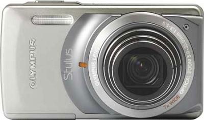 Stylus 7010 12MP Digital Camera - 7x Dual Image Stabilized Zoom 2.7 LCD (Silver)