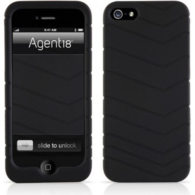 Velocity Silicone Case for iPhone 5 - Black