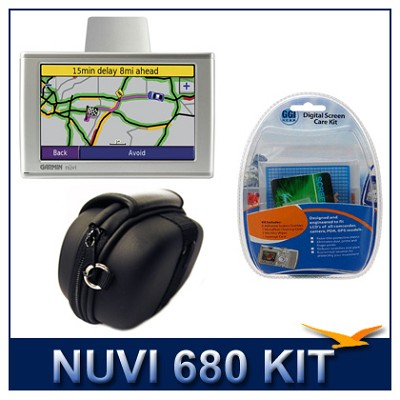 nuvi 680 Personal Travel Assistant - Super-Savings Kit (Refurbished)