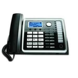 2-Line Corded Speakerphone with Digital Answering System