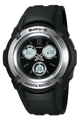 BG1500A-1B - Baby-G Atomic Ana-Digi Black Watch