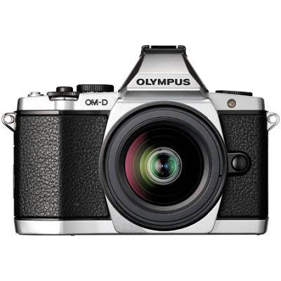 OM-D E-M5 12-50mm Silver Digital SLR Camera - Silver