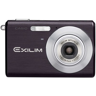 Exilim EX-Z60 Slim Digital Camera (Black) - OPEN BOX
