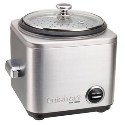 4-Cup Stainless Steel Rice Cooker/Steamer - Factory Refurbished