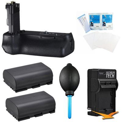 BG-E13 Battery Grip for Canon EOS 6D  Digital SLR Camera Kit