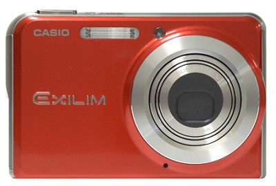 EX-S770 7 MP with 3X Optical Zoom and 2.8` Super Bright  LCD (Red)- Refurbished
