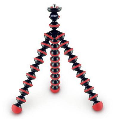 Gorillapod Mini Tripod/Grip For Compact Digital Cameras - Red/Black