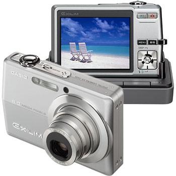 Exilim EX-Z600 Silver 6MP Digital Camera