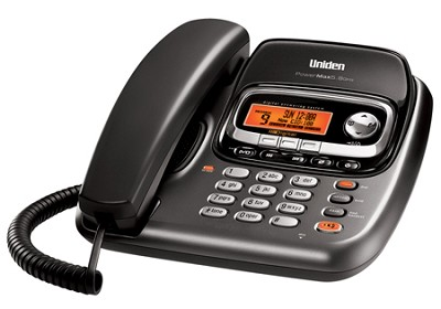 TRU9488 Corded/Cordless Dual Keypad Speakerphone & Digital Answering System
