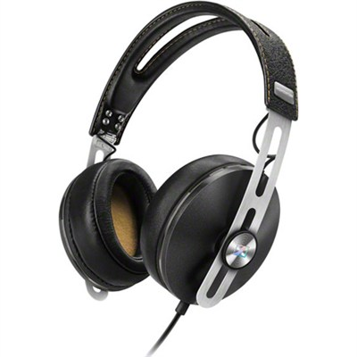 Momentum 2 Over Ear Stereo Headphones for Samsung Galaxy Android Devices - Black
