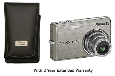 Coolpix S700 Digital Camera W/leather case and 2 Years Nikon US Warranty