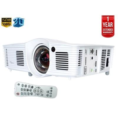 GT1080 Full 3D 2800 Lumen DLP Gaming Projector - Refurbished + Extended Warranty