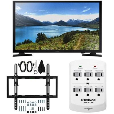 UN32J4000 - 32-Inch LED HDTV J4000 Series Flat & Tilt Wall Mount Bundle