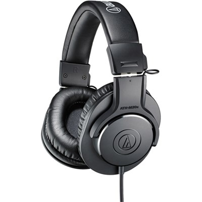 Professional Monitor Headphones (ATH-M20X) - (Certified Refurbished)