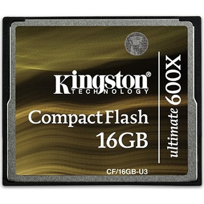 16GB Ultimate Compact Flash 600x Memory Card