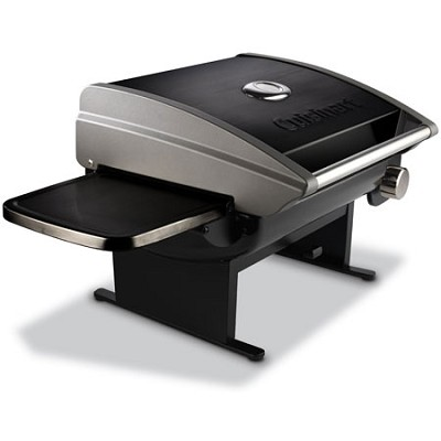 CGG-200B Portable Outdoor Tabletop Propane Gas Grill 12000 BTU Black