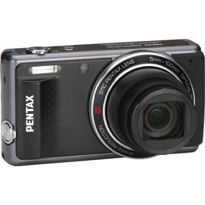 Optio VS20 Compact 16MP 20x Zoom Black Digital Camera - OPEN BOX