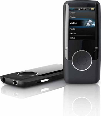 MP3 Video Player with 1.8` Display, 4 GB Flash Memory & FM