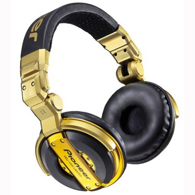 HDJ-1000G - Limited Edition Advanced Professional DJ Headphones, Gold