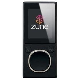 Zune 2nd Generation 4GB Media Player (Black)