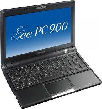 Eee PC 900 8.9` 160GB - Black (XP operating system) Refurbished