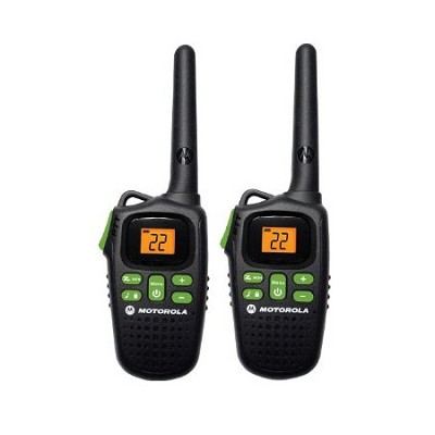 MD200R Giant FRS Two-Way - 20 Mile Radio Pack - Black