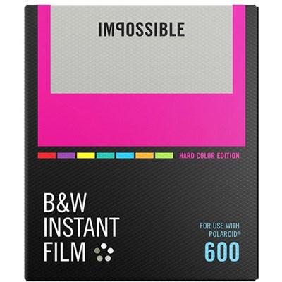 PRD-4523 Black & White Instant Film (Color Frame) for Polaroid 600-Type Cameras
