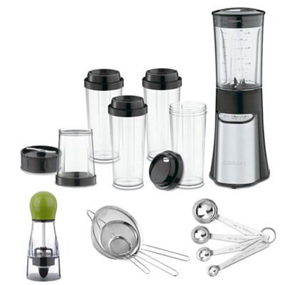 CPB-300 SmartPower 15-Piece Compact Port.Blending/Chopping System w/ excl.Bundle
