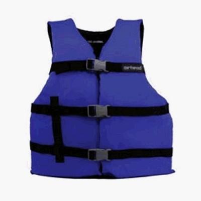 Airhead 10002-16-A-BL  - X-Large Adult 3-Belt Universal Life Vest