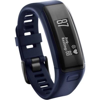 vivosmart HR Activity Tracker, Regular Fit - Midnight Blue (Factory Refurbished)