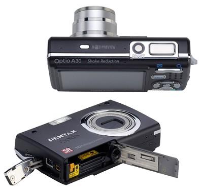 Optio A30 10MP Digital Camera