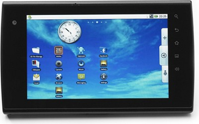 A7 Touchscreen 7-Inch Android 2.2 Tablet (Black)