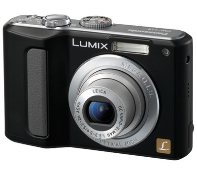 DMC-LZ8 (Black) Lumix 8 Megapixel Digital Camera w/ 5x Optical Zoom & 2.5` LCD