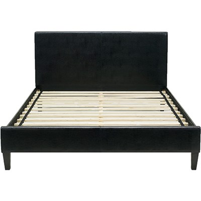 Hanover Downtown Leather Queen Bed Frame