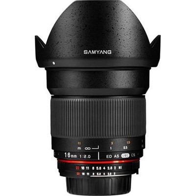 16mm F2.0 Wide Angle Lens for Sony E-Mount