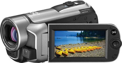 VIXIA HF R10 Dual Flash Memory HD Camcorder Silver
