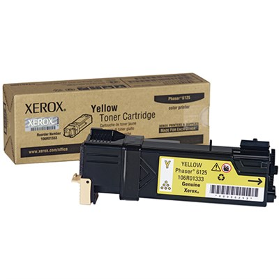 Yellow Toner Cartridge for Phaser 6125 - 106R01333