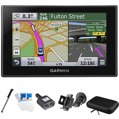 nuvi 2689LMT Advanced Series 6` Display GPS Navigation System Mount Bundle
