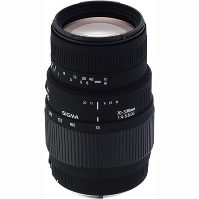 70-300mm f/4-5.6 DG Macro Zoom Lens for Pentax and Samsung SLR Cameras -OPEN BOX