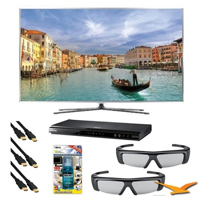 UN60D8000 60 inch 240hz 3D Wifi LED with Clear Motion 960 3D Bundle