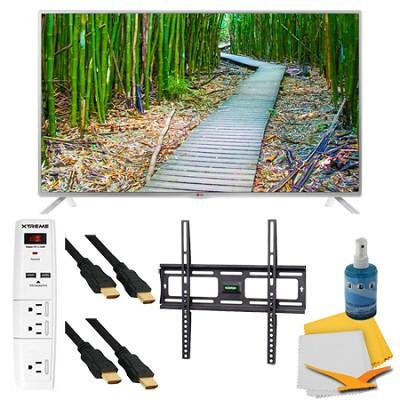 39` 1080p 60Hz Smart Direct LED HDTV Plus Mount and Hook-Up Bundle (39LB5800)