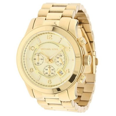 Women's Chronograph Runway Gold - MK8077